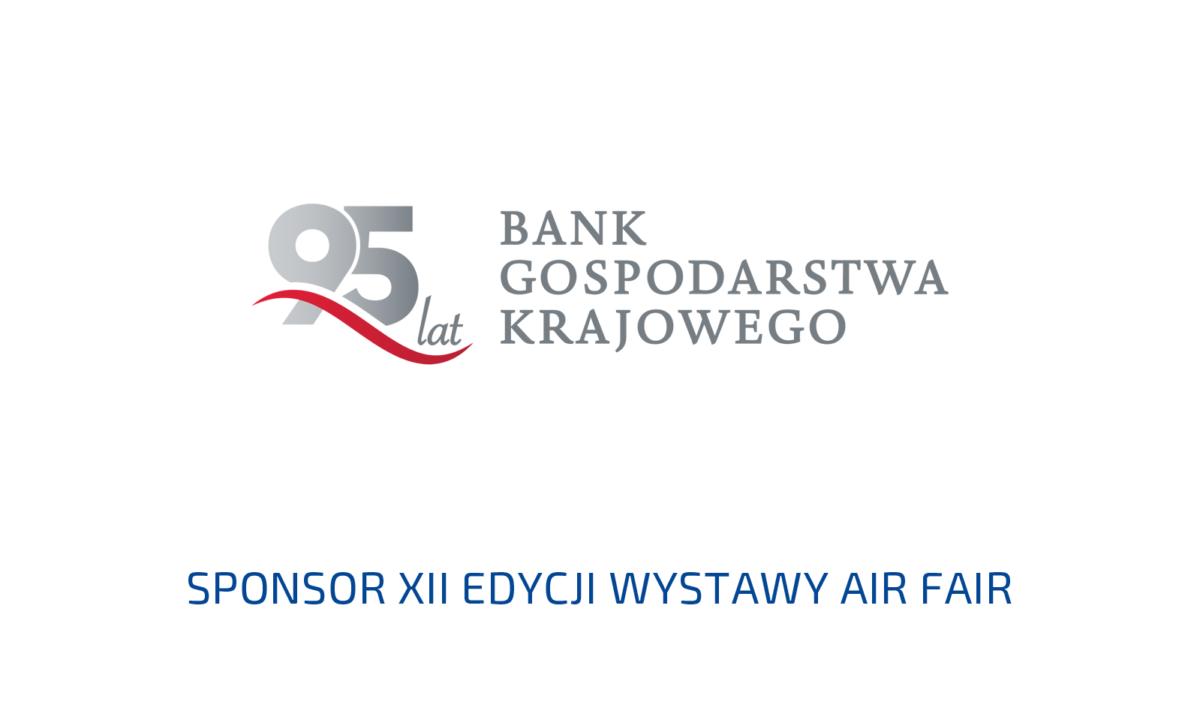 Bank Gospodarstwa Krajowego Sponsorem XII edycji Wystawy Air Fair